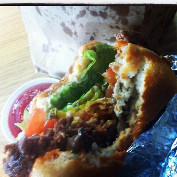 Burger & Fries @ Five Guys Burgers & Fries