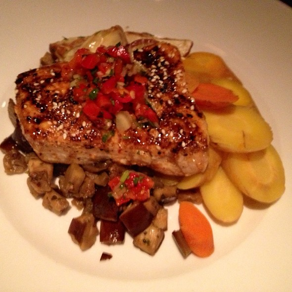 Swordfish W/ Carrots, Eggplant & Fingerling Potatoes @ Seasons 52