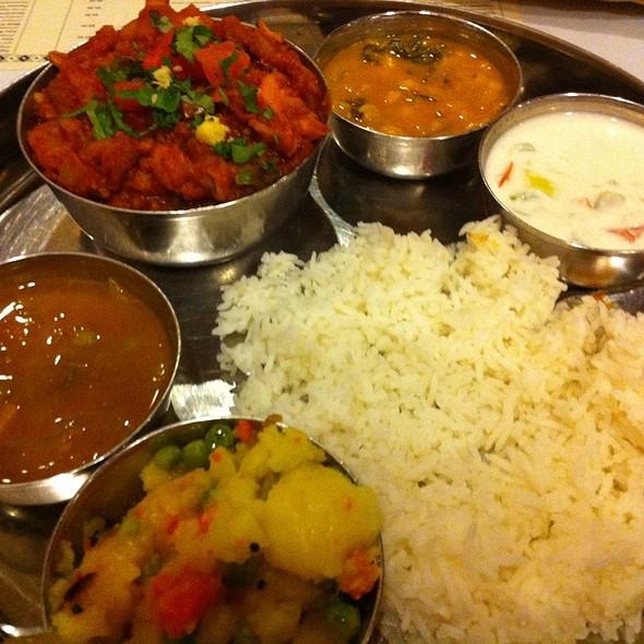 aloo gobi @ Dwaraka Indian Cuisine