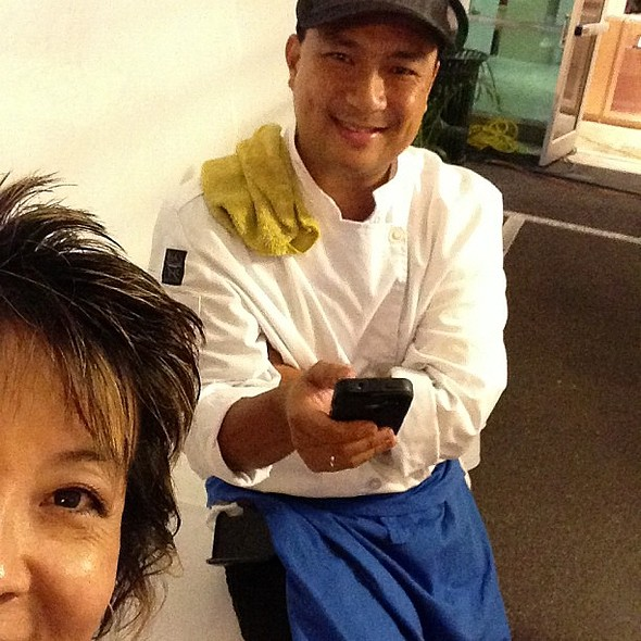 Hashtagging w/ @pokestop at 3rd annual signature chefs food festival! @ Honolulu Fire Department