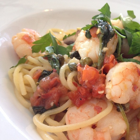 Nightly Special: Seafood Pasta In A Fresh Tomato Sauce @ Scalo