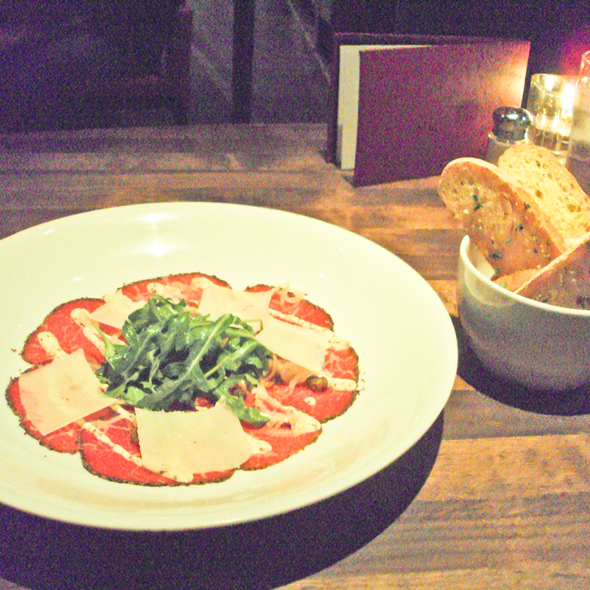 Beef Carpaccio @ Cactus Club Cafe