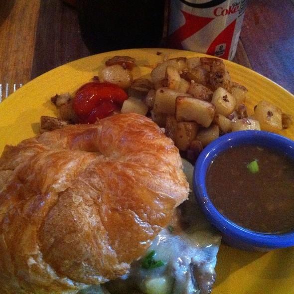 French Dip Sandwich @ Lost Dog Cafe