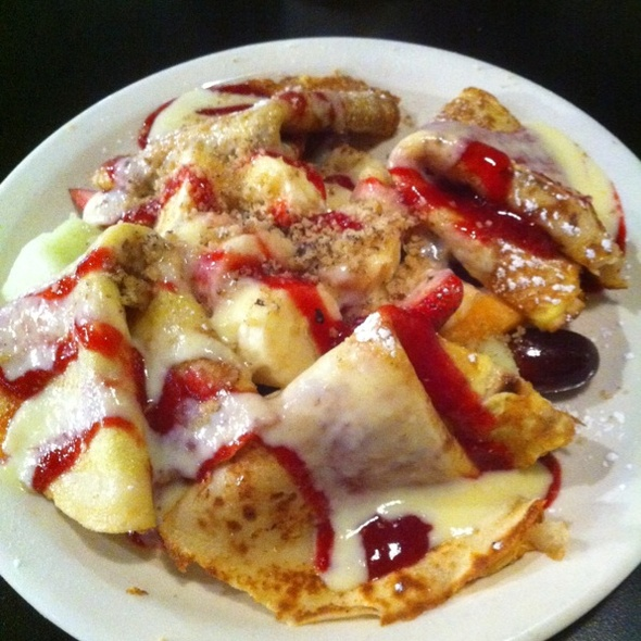 Fruit Pancrepes @ Cafe Brazil Addison