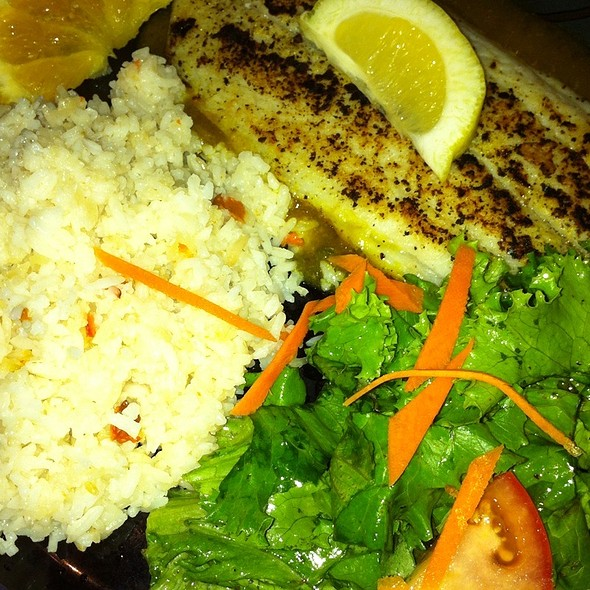 Grilled Fish @ Canto DO Brazil