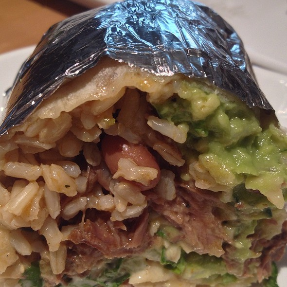 Carnitas Burrito @ chipotle mexican grill