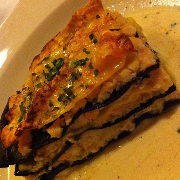 Lasagna Ai Frutti Di Mare - Osteria Fasulo, Davis, CA
