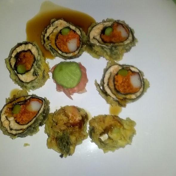salmon tempura - Asian Fusion Cafe, Palmetto Bay, FL