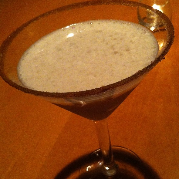 Pumpkin Spice Martini @ Flip Burger Boutique