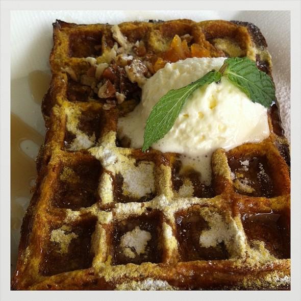 Pumpkin Waffle @ Dava Restaurant Ayana