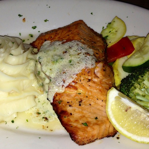 Oven Roasted Salmon - Hereford House - Leawood, Leawood, KS
