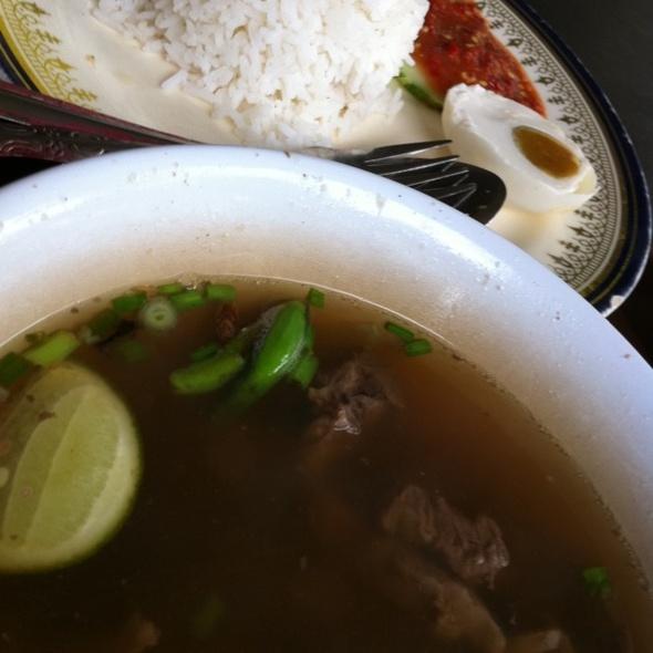 Beef Soup @ Ani Sup Utara