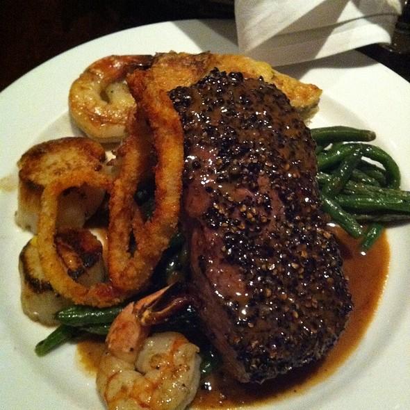 Spice Rubbed New York Strip Steak - Django Restaurant, Des Moines, IA