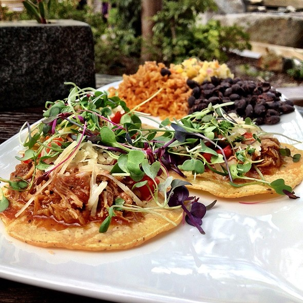 Bbq Duck Taco Trio - Stone Brewing World Bistro & Gardens, Escondido, CA