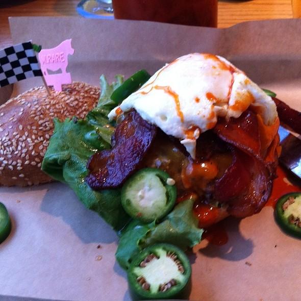 Hangover Burger - Burger Jones - Minneapolis, Minneapolis, MN
