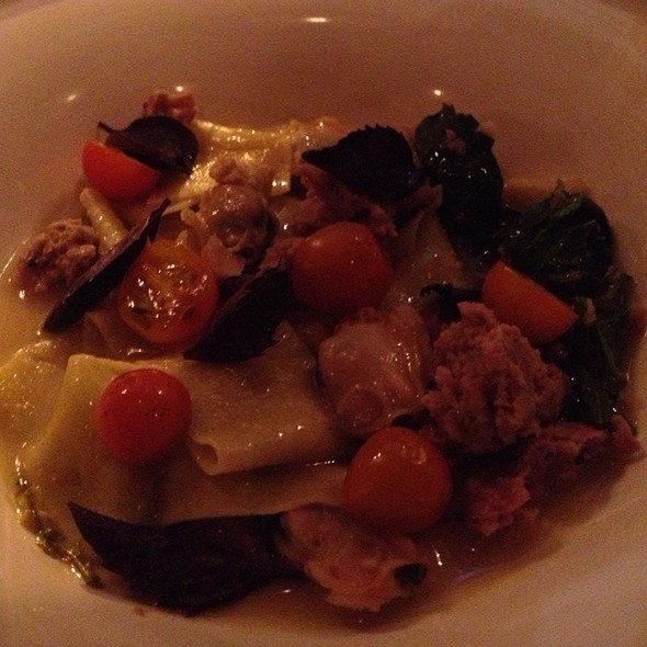 Pasta With Duck Sausage - The Dorrance, Providence, RI