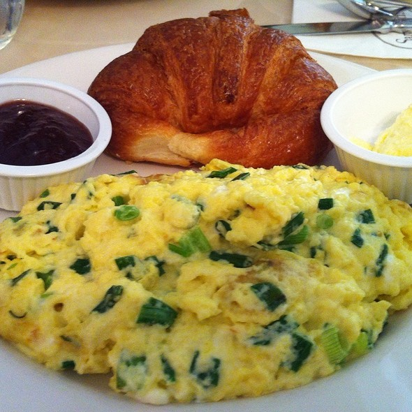 Green And White Eggs - Sarabeth's East, New York, NY