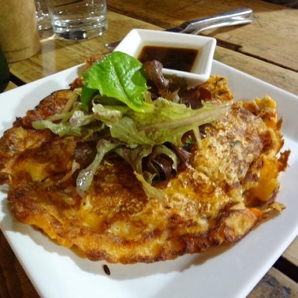 Kimchi Pancake @ The Green Table