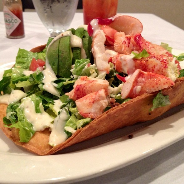 Crab And Lobster Cobb Salad - The Warehouse, Alexandria, VA