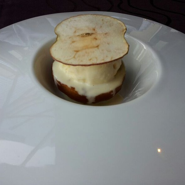 Caramelized Apple With Marscopone Ice Cream - Noe at the Omni Los Angeles, Los Angeles, CA