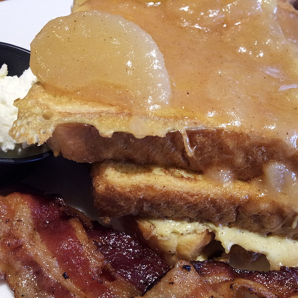 Harvest Stuffed French Toast @ Hearth 'n Kettle