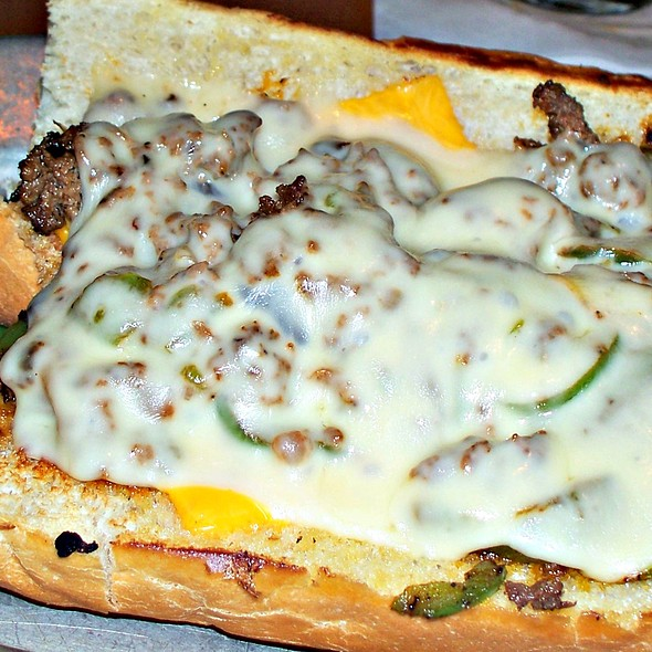 Philly Cheesesteak @ Katz's Deli & Bar