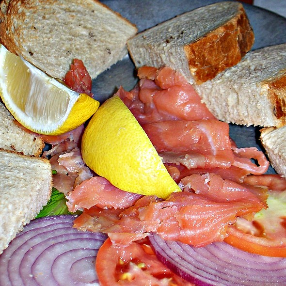 Scottish Smoked Salmon @ Katz's Deli & Bar
