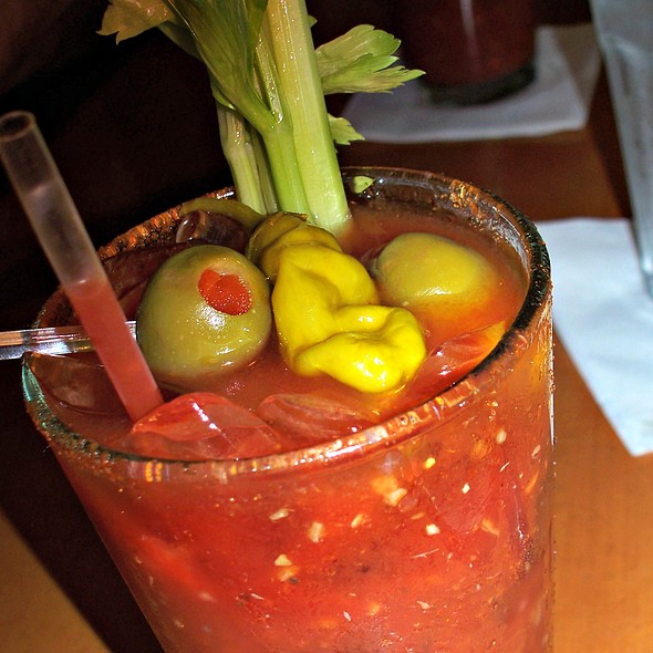 Holy Mary Bloody Mary @ Katz's Deli & Bar