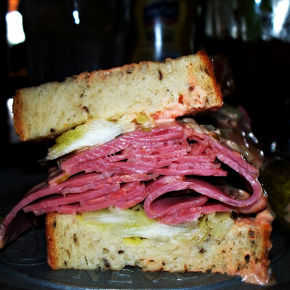 Katz's Pride Cornbeef Sandwich @ Katz's Deli & Bar