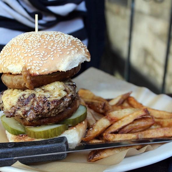 BBQ Burger - Esquire Tavern, San Antonio, TX