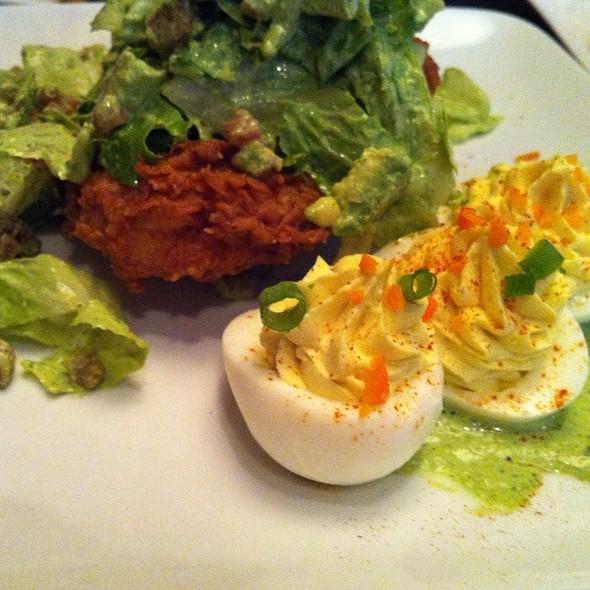 Chicken-Fried Pork Salad @ Soho Kitchen & Bar
