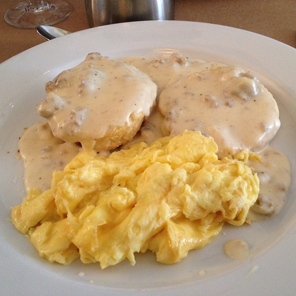 Sausage biscuits & Gravy - Stone Park Cafe, Brooklyn, NY