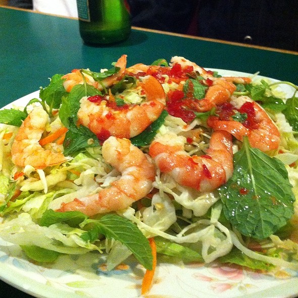 shrimp salad @ 7 Mission Restaurant