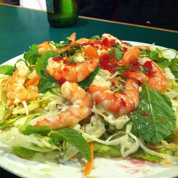 shrimp salad @ 7 Mission Restaurant