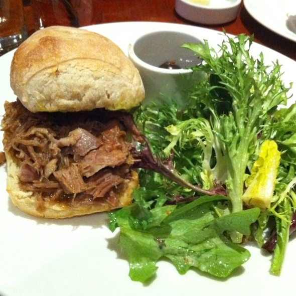Lamb Confit Sandwich - Divino Wine & Cheese Bistro, Calgary, AB