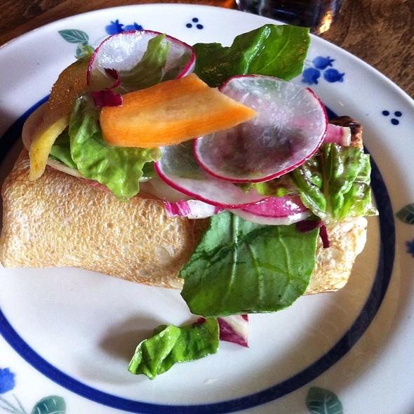Smoked Chicken Crêpe - FARMHOUSE Tavern, Toronto, ON
