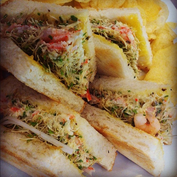 Shrimp And Kani Sandwich @ Ucc Cafe Terrace
