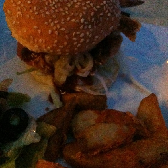 Soft Shell Crab Burger