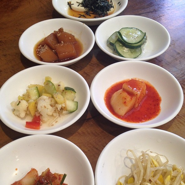Banchan (Side Dishes) @ Beverly Soon Tofu Restaurant