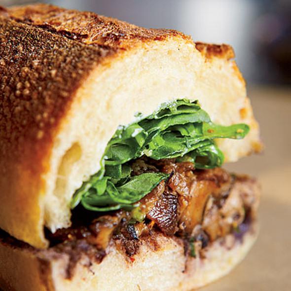 Woodland Mushroom Sandwich @ Xoco
