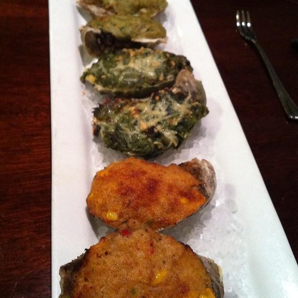 Roasted Oysters - Jolie's Louisiana Bistro, Lafayette, LA