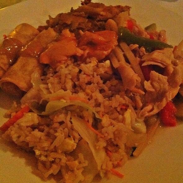 Green Chicken Curry - BOA Thai Asian Fusion, Southampton, NY