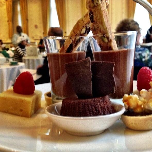 Chocolate Tier  - Victoria's Restaurant @ The King Edward Hotel, Toronto, ON