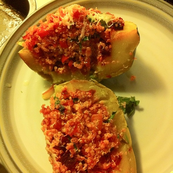 Stuffed Acorn Squash @ Home