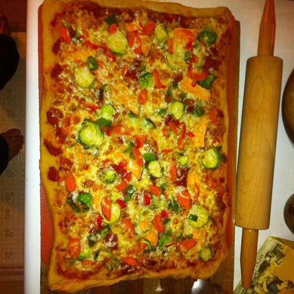 Brussel Sprout Pizza @ Home