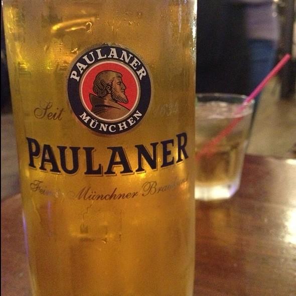 Paulaner Oktoberfest - Jacob Wirth, Boston, MA