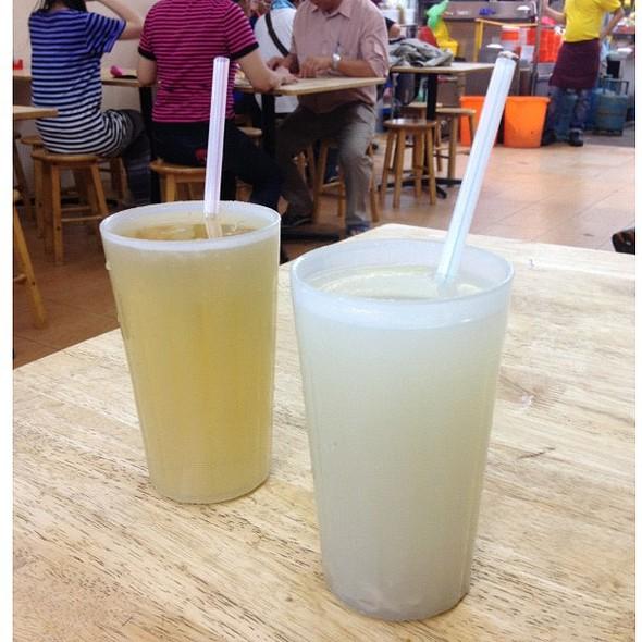 Barley Tea Hot RM1,80 and RM1,80 @ Chu Cha Restaurant