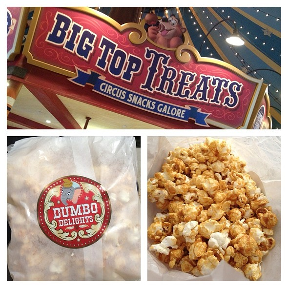 Caramel Corn @ Big Top Treats