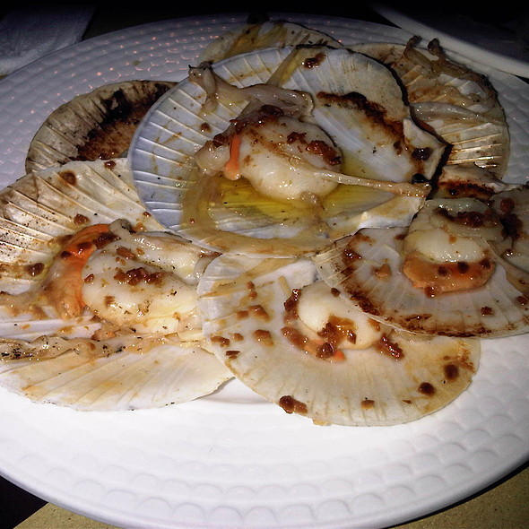 Buttered Garlic Scallops