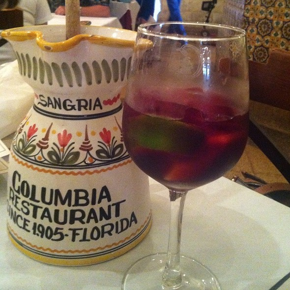 Sangria @ Columbia Restaurant: Ybor City